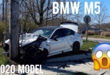 Photo de USA : Sa BMW M5 flambant neuve explosée avec 11 kilomètres au compteur (vidéo)