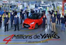 Photo de Toyota Yaris : Le cap des 4 millions d'unités produites en France