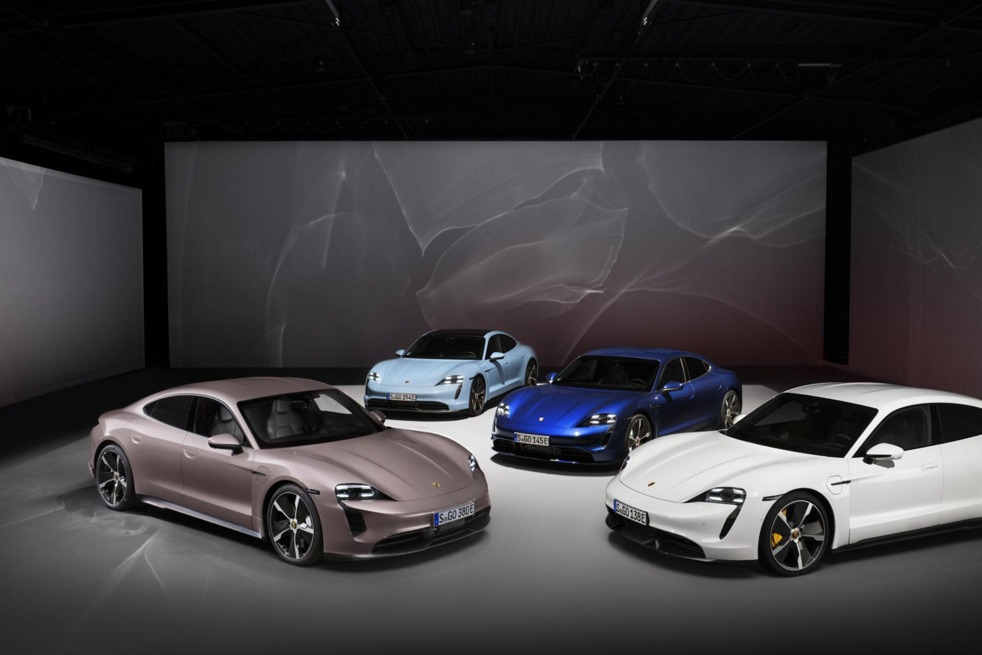 Porsche propose un nouveau Taycan d'entrée de gamme