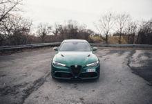 Photo de Essai : Alfa Romeo Giulia Quadrifoglio