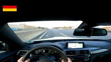 Photo de Vidéo : Il se filme au volant de sa BMW M4 à 280 km/h quand un automobiliste se rabat sur lui