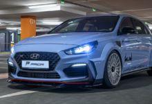 Photo de Prior Design dévoile un kit impressionnant pour la Hyundai i30 N
