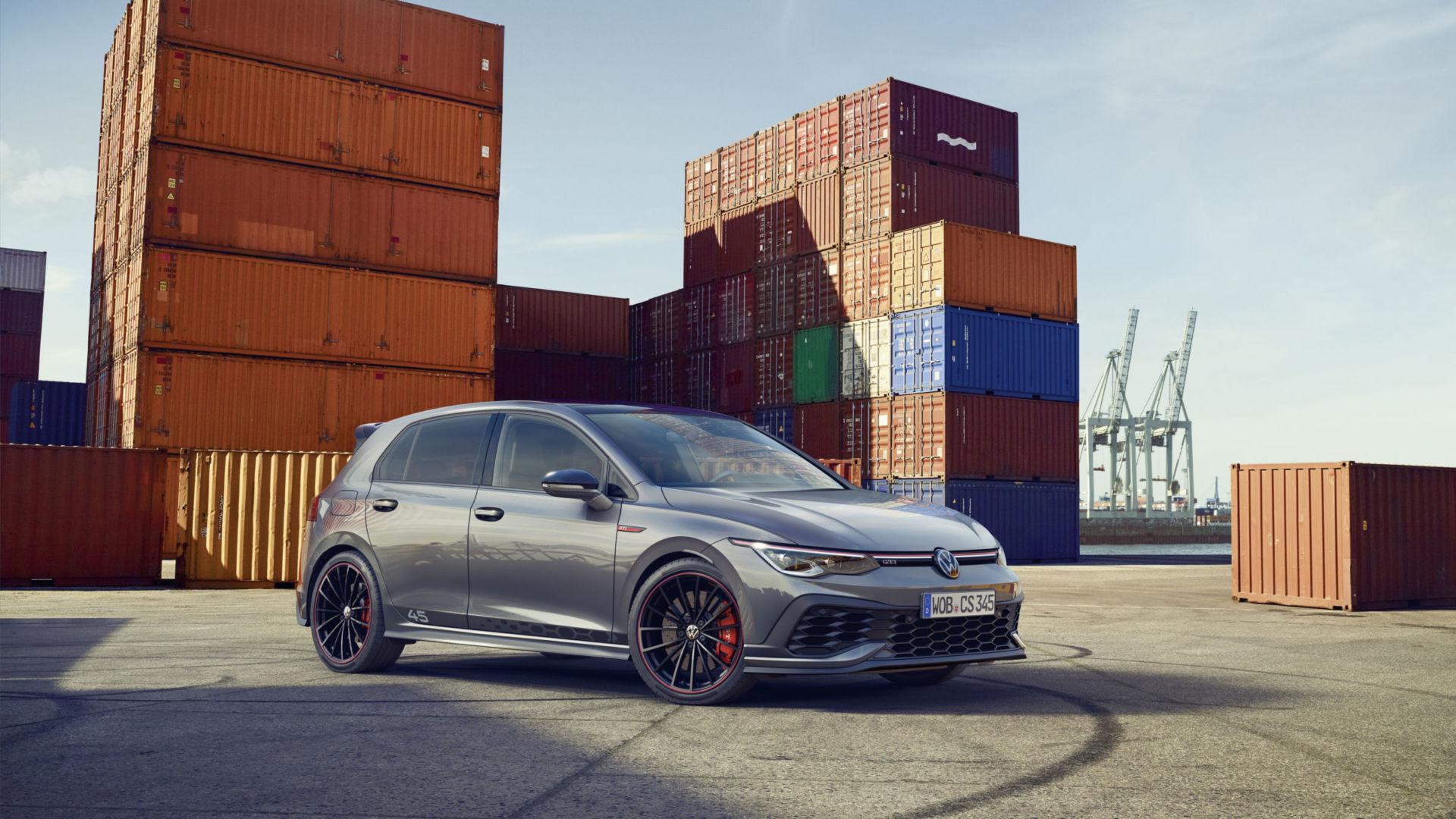 Volkswagen présente la Golf 8 GTI Clubsport 45 ans