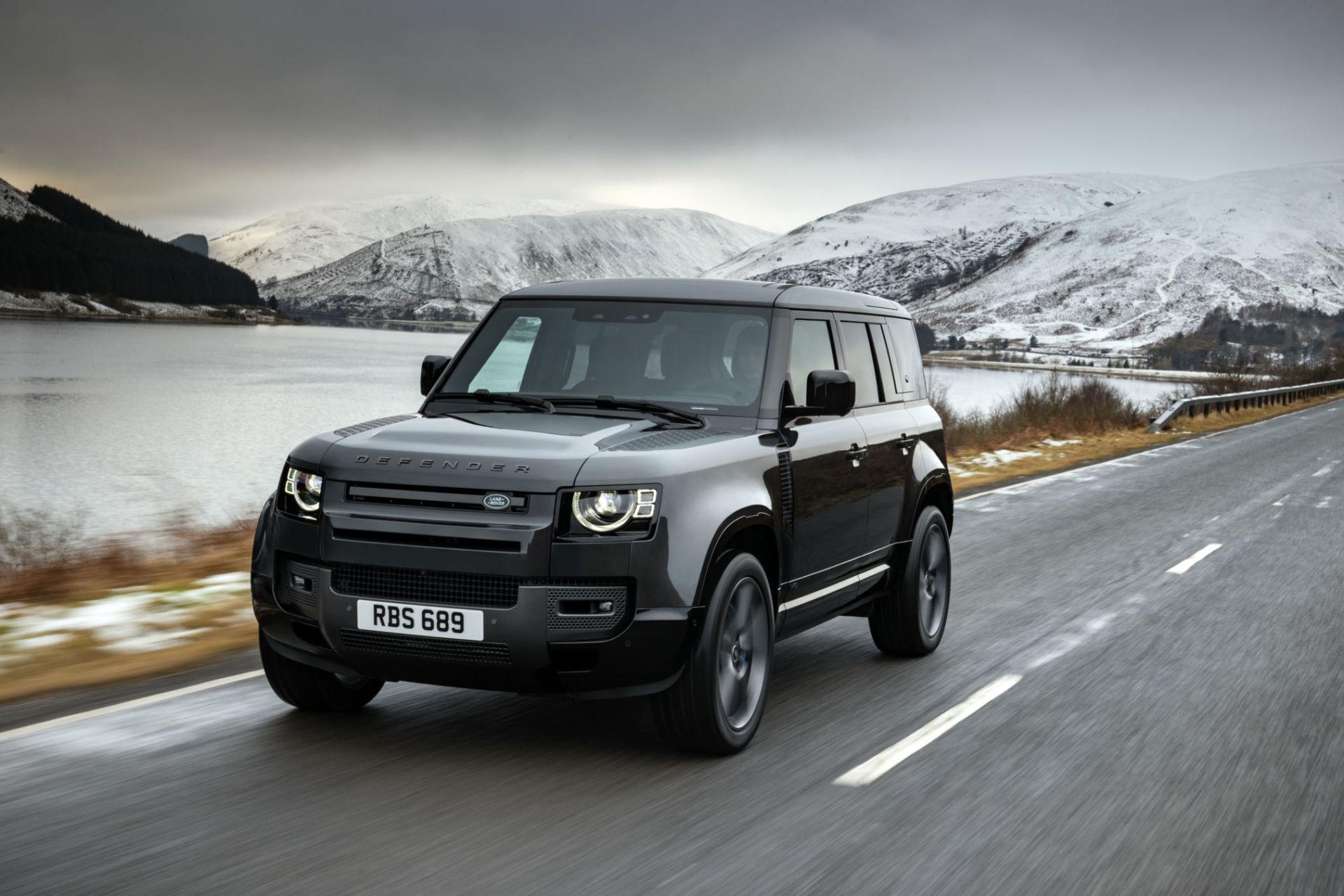 Un V8 pour le dernier Land Rover Defender