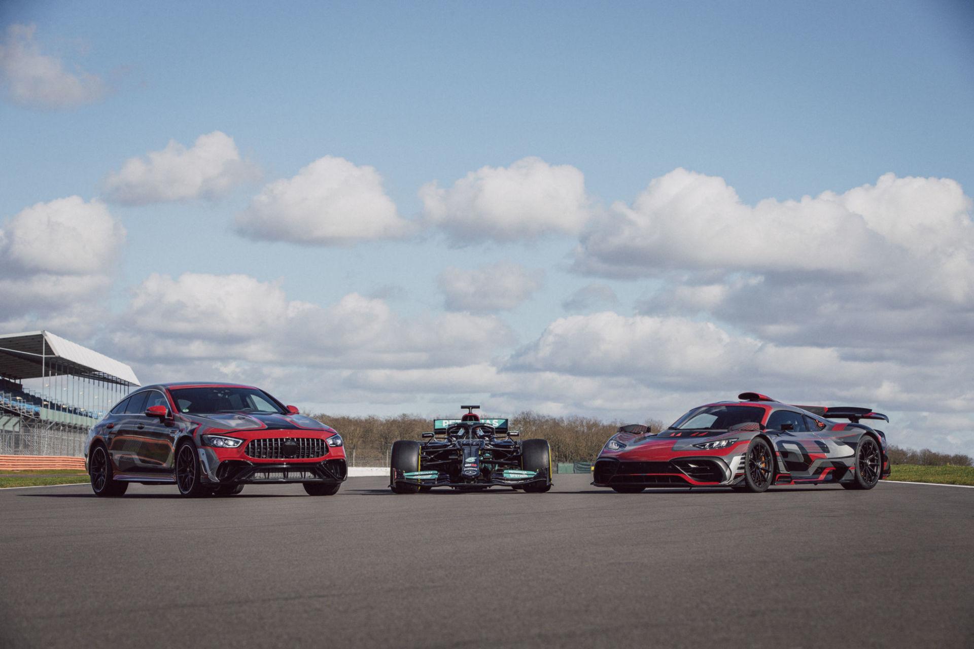 Mercedes-AMG : La GT 73 hybride ne se cache (presque) plus !