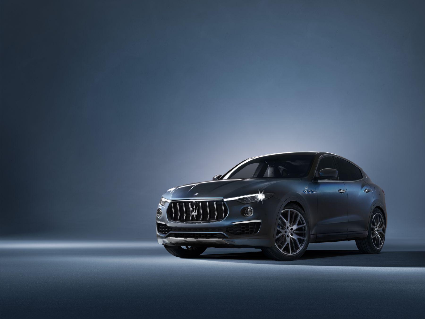 Un nouveau quatre cylindres hybride pour la Maserati Levante