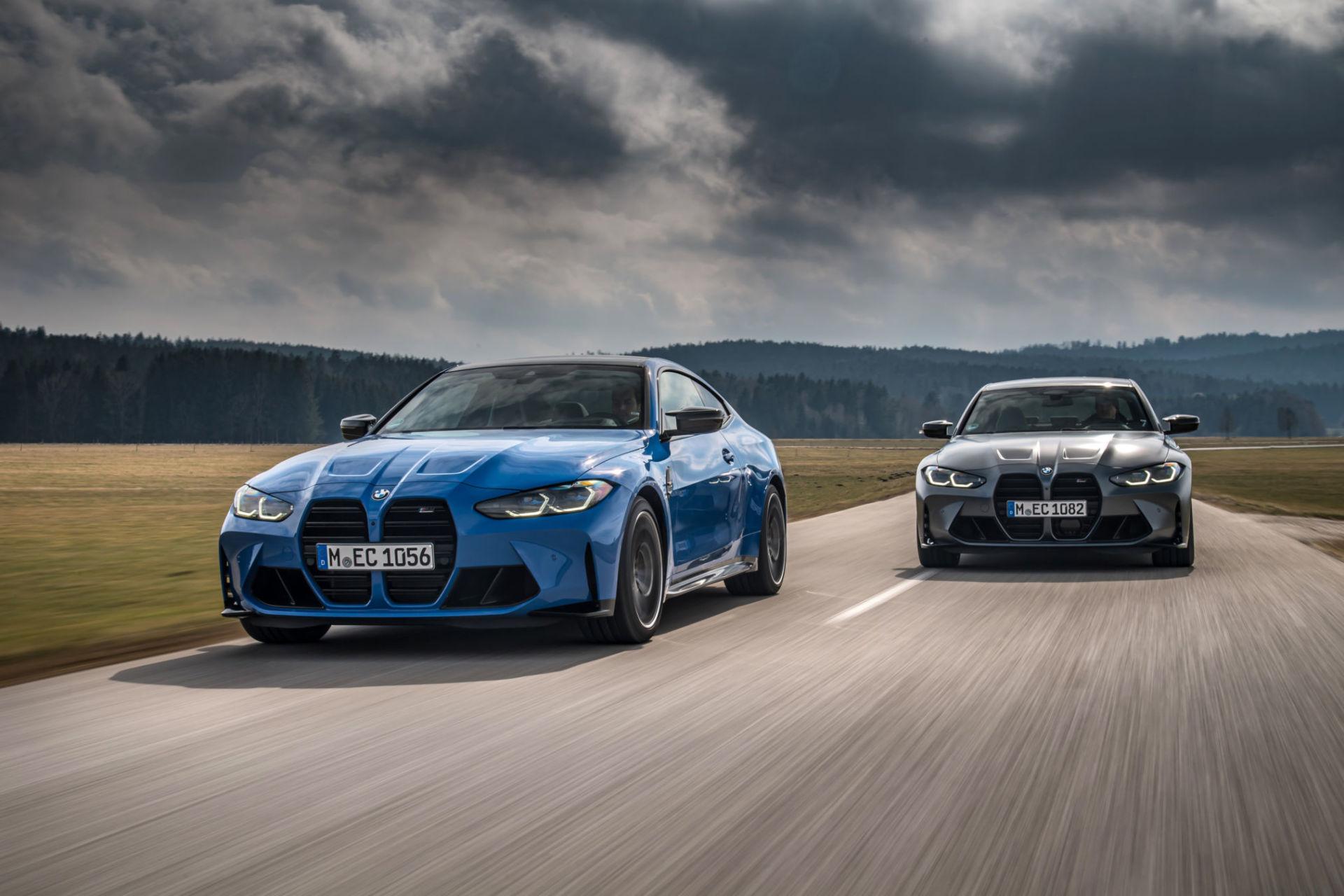 BMW introduit ses M3 et M4 Competition xDrive