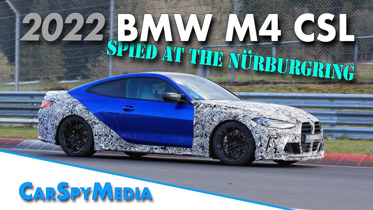 La future BMW M4 CS filmée sur le Nürburgring