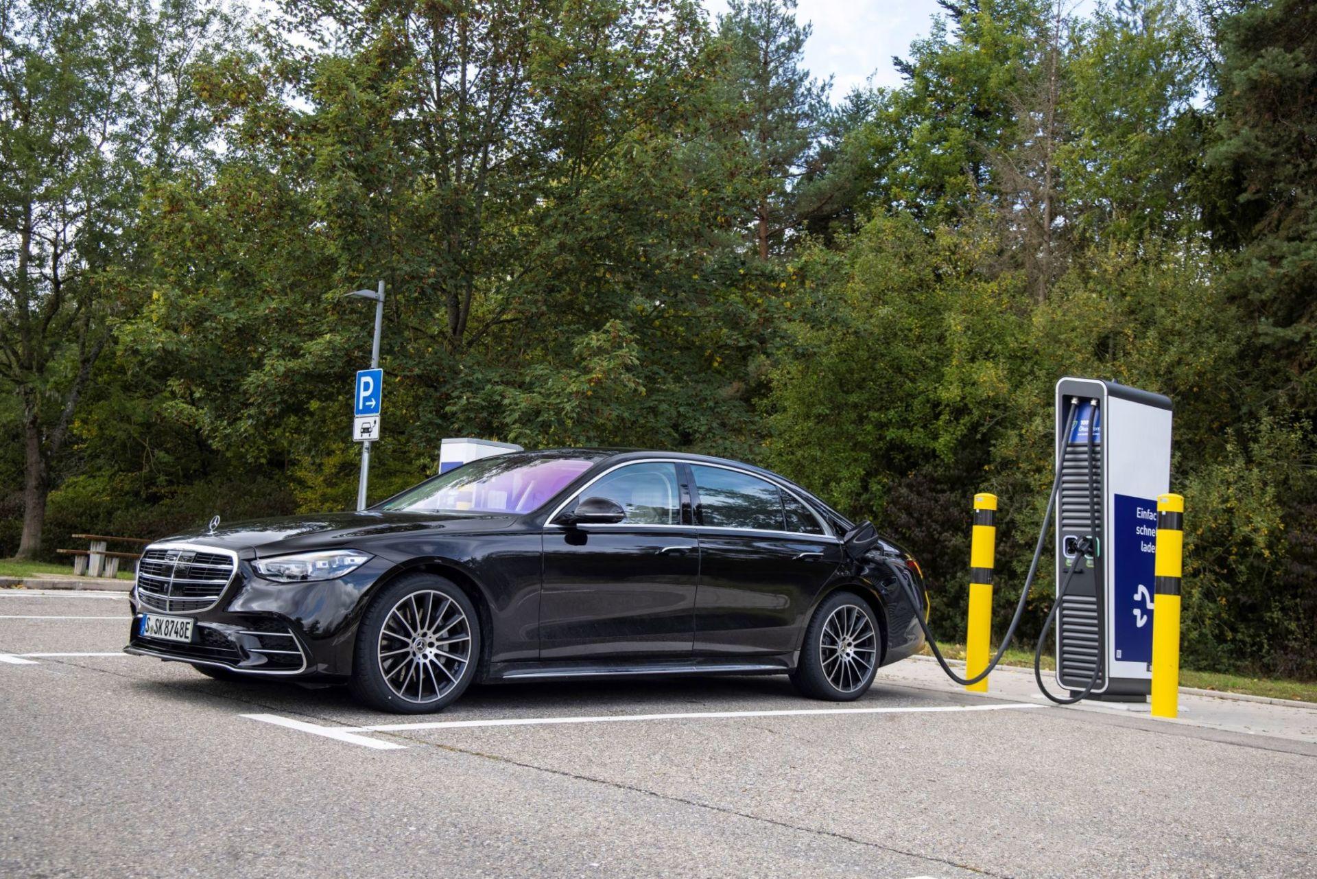 Mercedes Classe S plug-in hybride : Jusqu'à 100 kilomètres en tout électrique