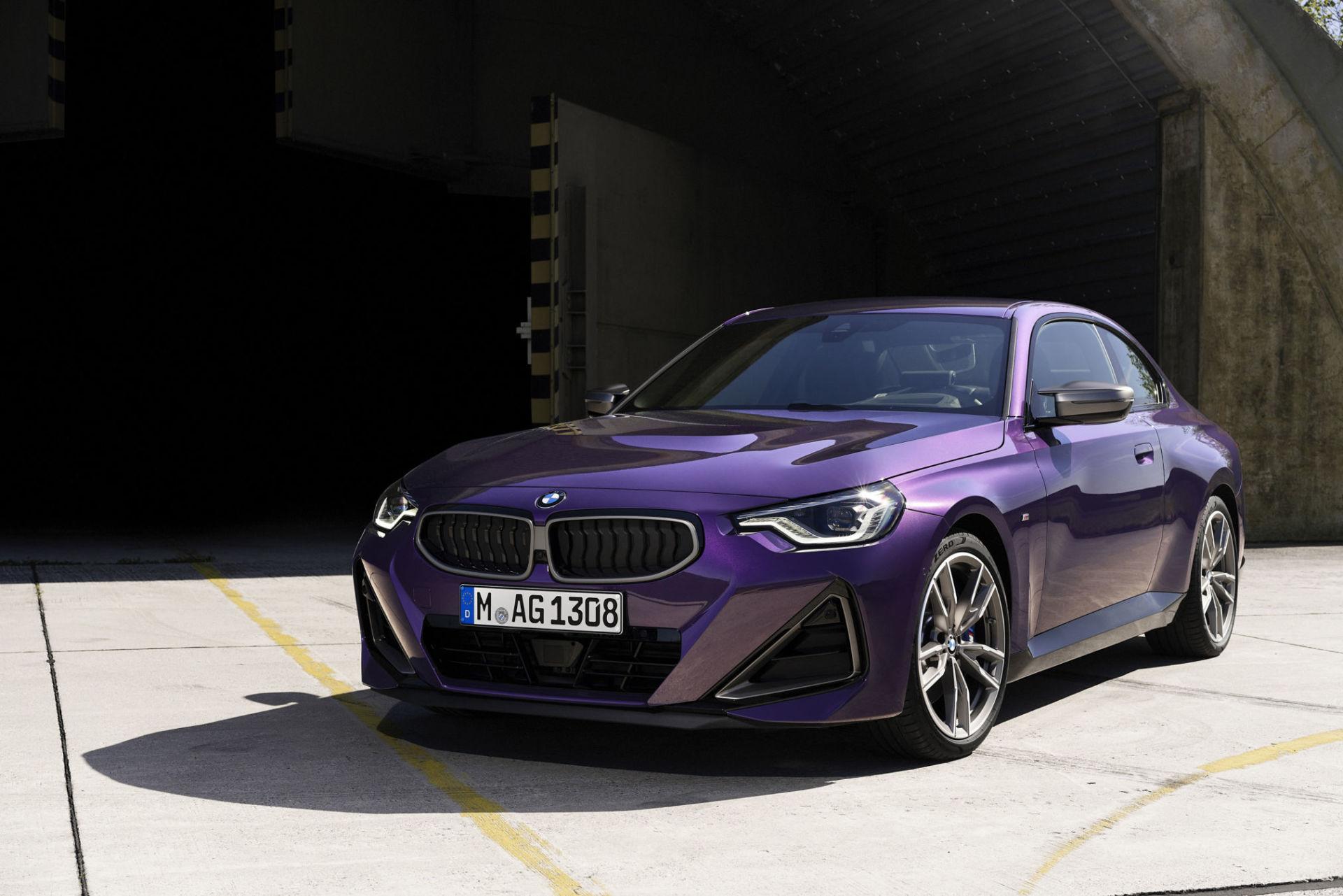 BMW : Voici la nouvelle Série 2 Coupé