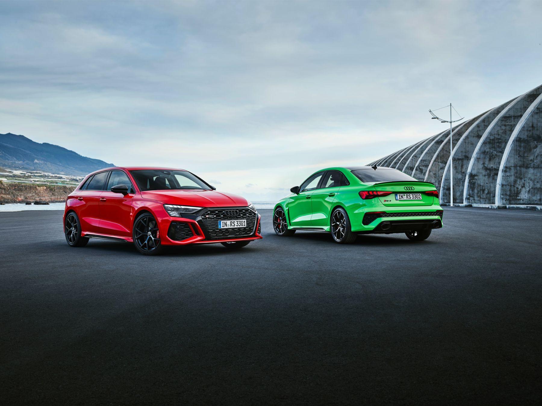 Audi RS 3 : Toujours 400 chevaux et un cinq cylindres en ligne sous le capot